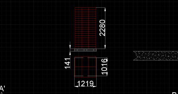 Figura 3. Dimensiones de pallet con cajas de mora