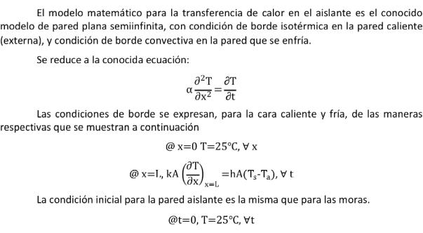 Modelo matematico Aislante 1