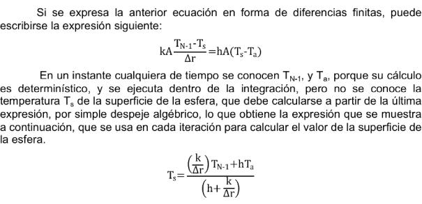 Modelo Matematico de la esfera 2