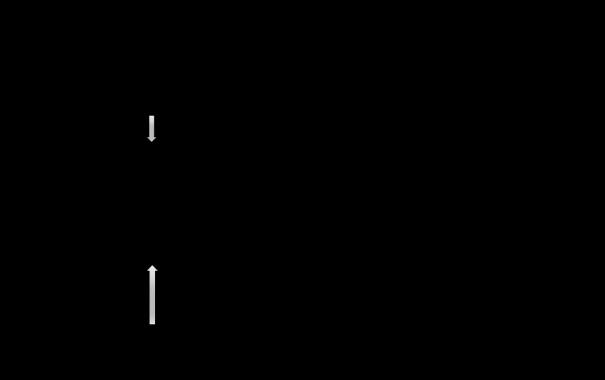 Figura 1. Una matriz productiva mínima